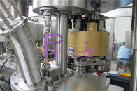Carbonated Juice Soft Drink Filling Line Monoblock 3 In 1 For Glass Bottle