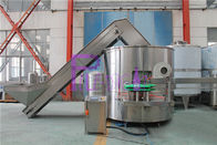 Industrial Plastic Bottle Sorting Machine / Bottle Unscrambler PLC Control