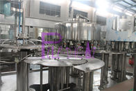 12 Heads Big Bottle Vacuum Filling Machine With Chain Feeding Conveyor