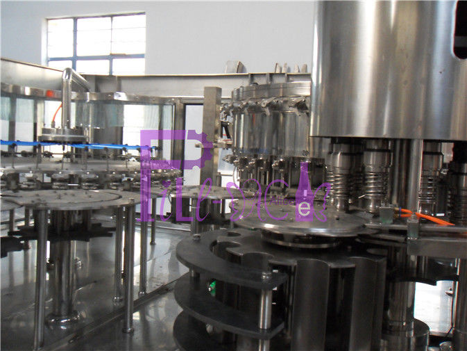 Full Automatic Energy Soft Drink Filling Line Aseptic Juice Processing Equipment