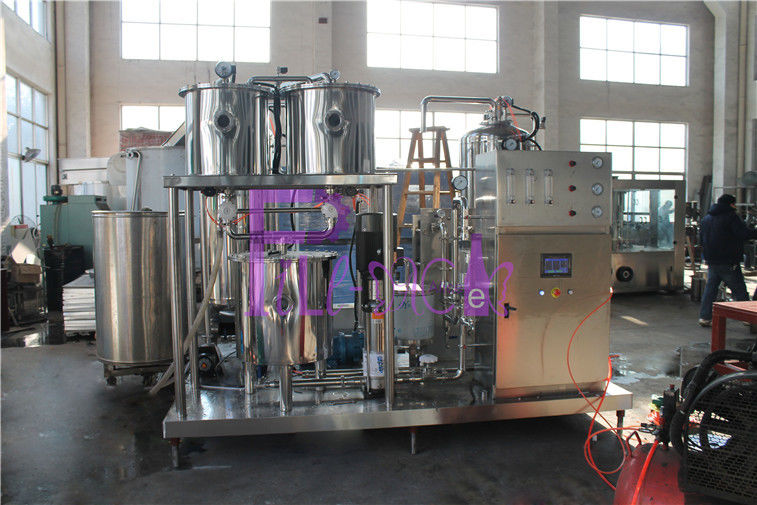 High Ratio Soft Drink Making Machine 9000L/H With CO2 Beverage