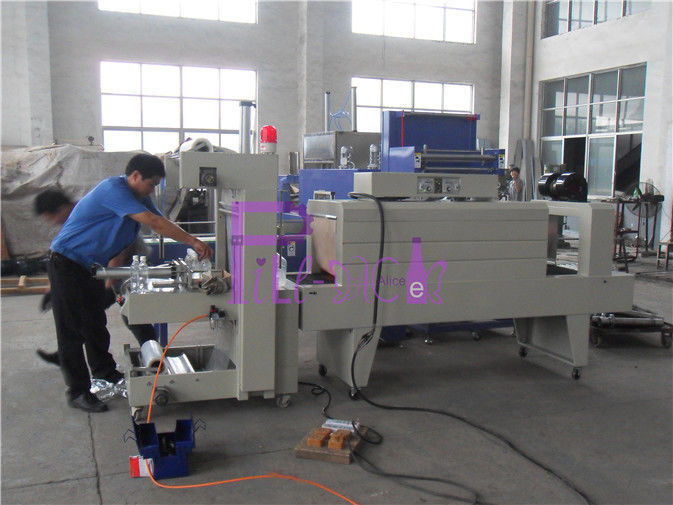 Manual Paper Pallet Bottle Packing Machine For Beverage Processing 8 bags / min