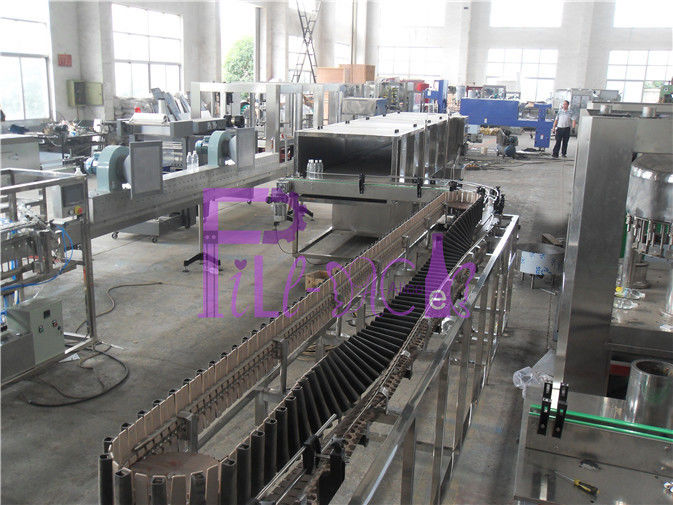 Juice Production Line Bottle Packing Machine Equipment Thermodynamic Sterilizing System