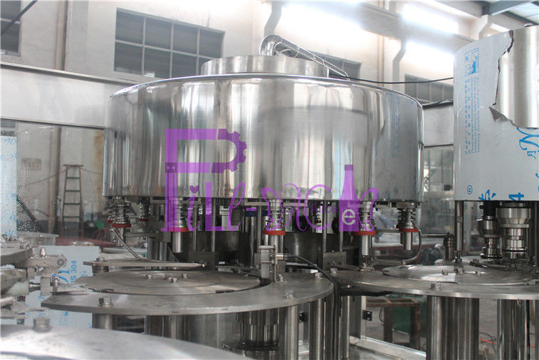 12 - 12 - 5 Monoblock 5L Liquid Filling Machines With Belt Lubrication Function