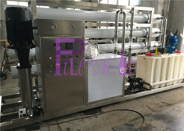 12000LPH Auto Water Purifier Systems , water ro system UV Qzone Mixing Tower