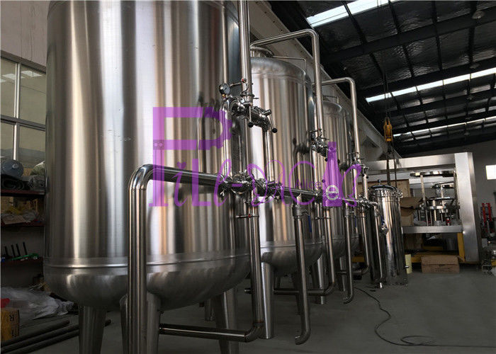 Automatic RO Mineral Water treatment System With Active Carbon Filter